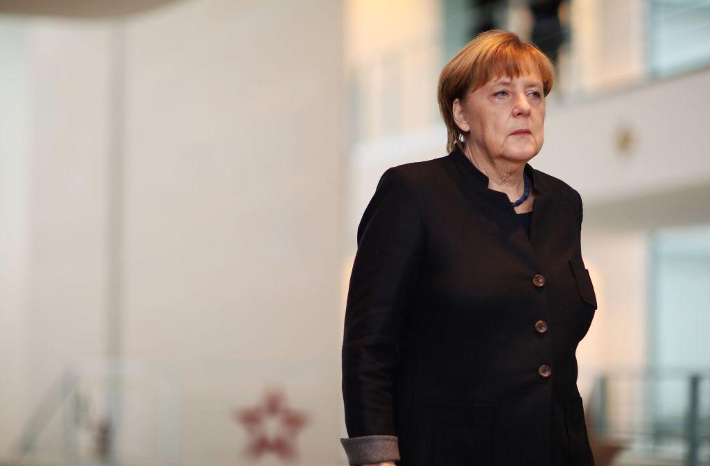 Bundeskanzlerin Angela Merkel hat sich am Morgen zu dem Anschlag in Berlin geäußert. Foto: dpa