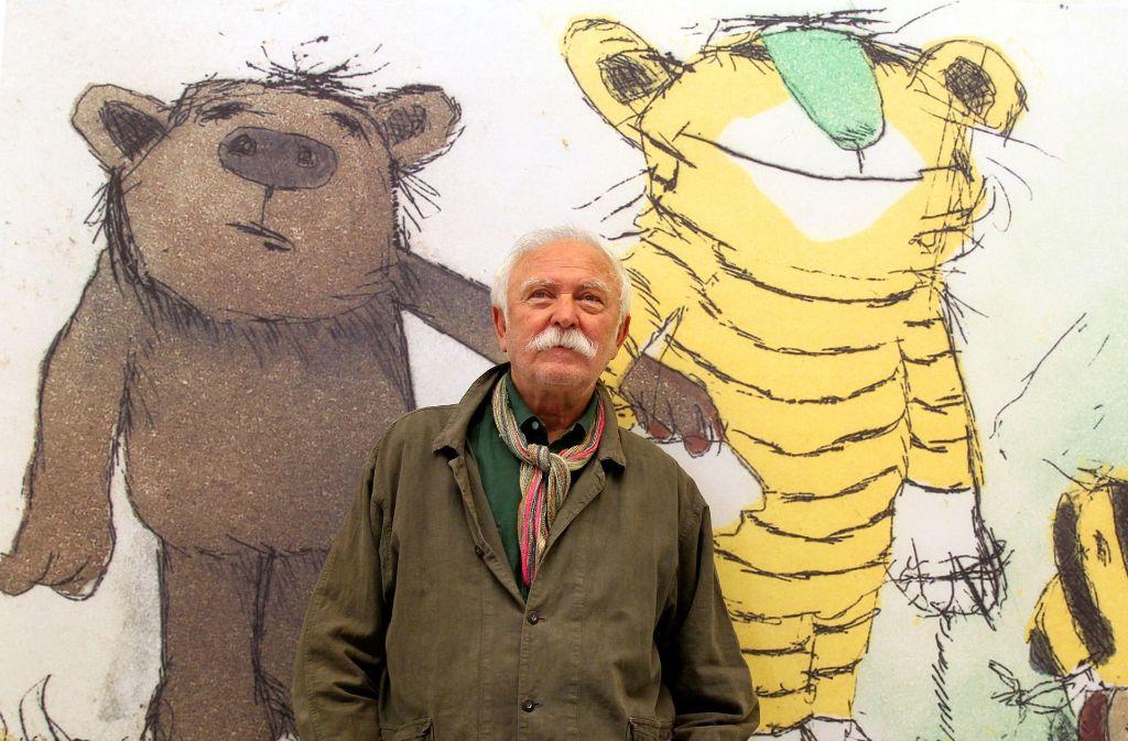 Janosch ist der Schöpfer von Tiger, Bär und Tigerente. Foto: dpa