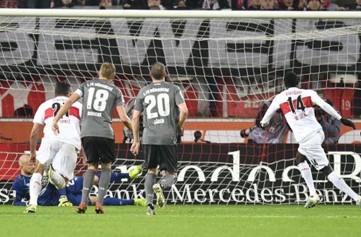 VfB schießt sich aus der Krise