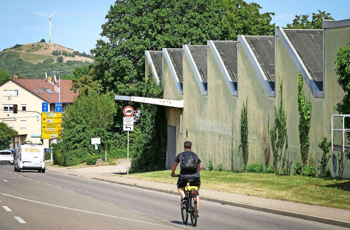 Das Areal liegt nahe der  A-81-Anschlussstelle Stuttgart-Feuerbach. Foto: factum/ Simon Granville
