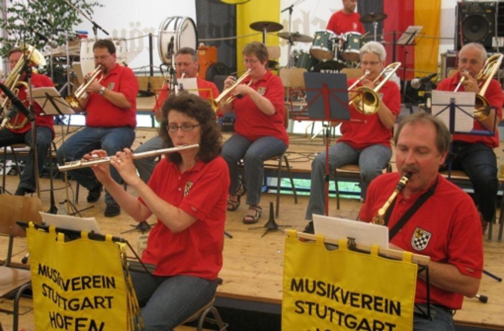 Jedes Jahr lädt der Musikverein zum großen Sommerfest ein. Foto: Privat