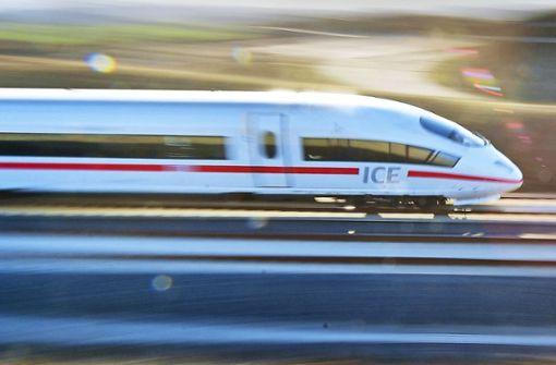 ICE hält  nicht mehr in Heilbronn