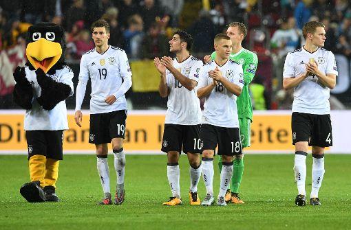 Weltmeister Deutschland knackt den Quali-Rekord