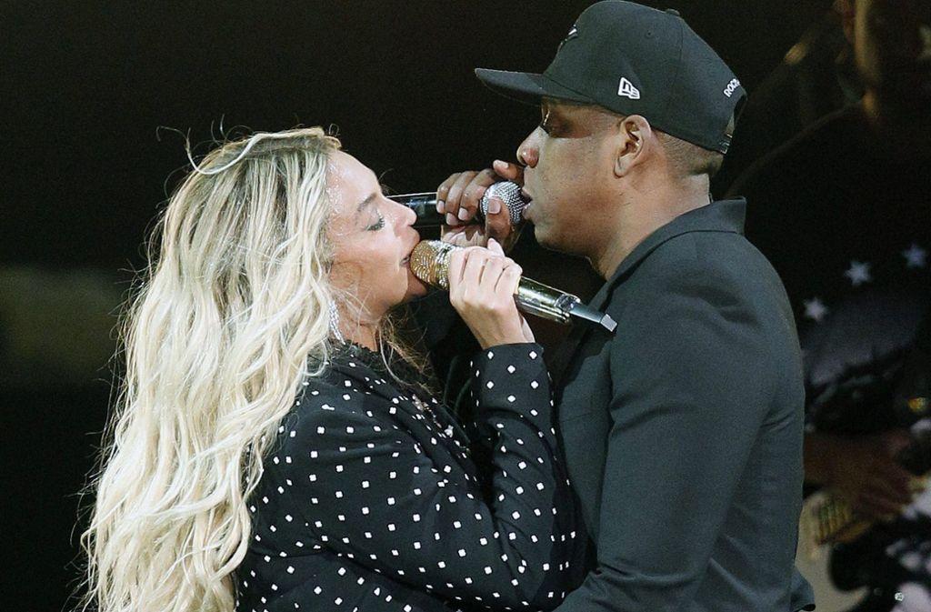 Bei einem Konzert von Beyoncé und ihrem Ehemann Jay-Z hat es einen Schockmoment gegeben (Archivfoto). Foto: dpa