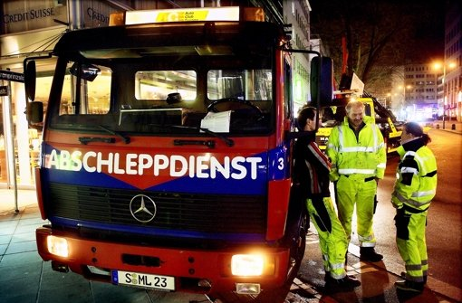 46 Falschparker in der City abgeschleppt