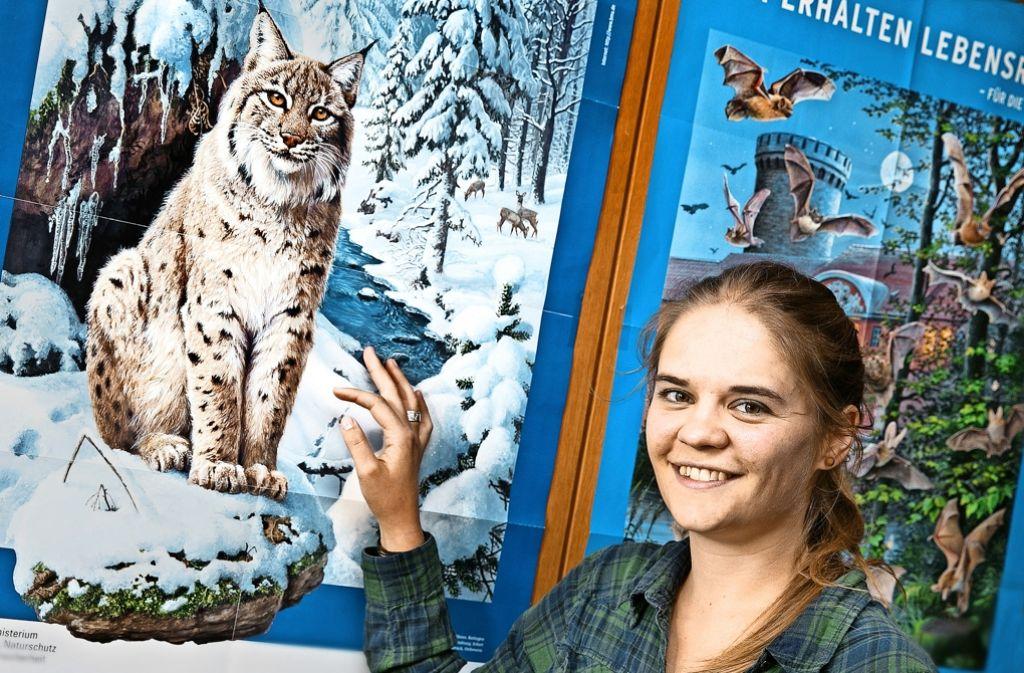 Wenn Wildtiere den Garten heimsuchen, weiß Patricia Brandbeck Rat. Foto: Horst Rudel