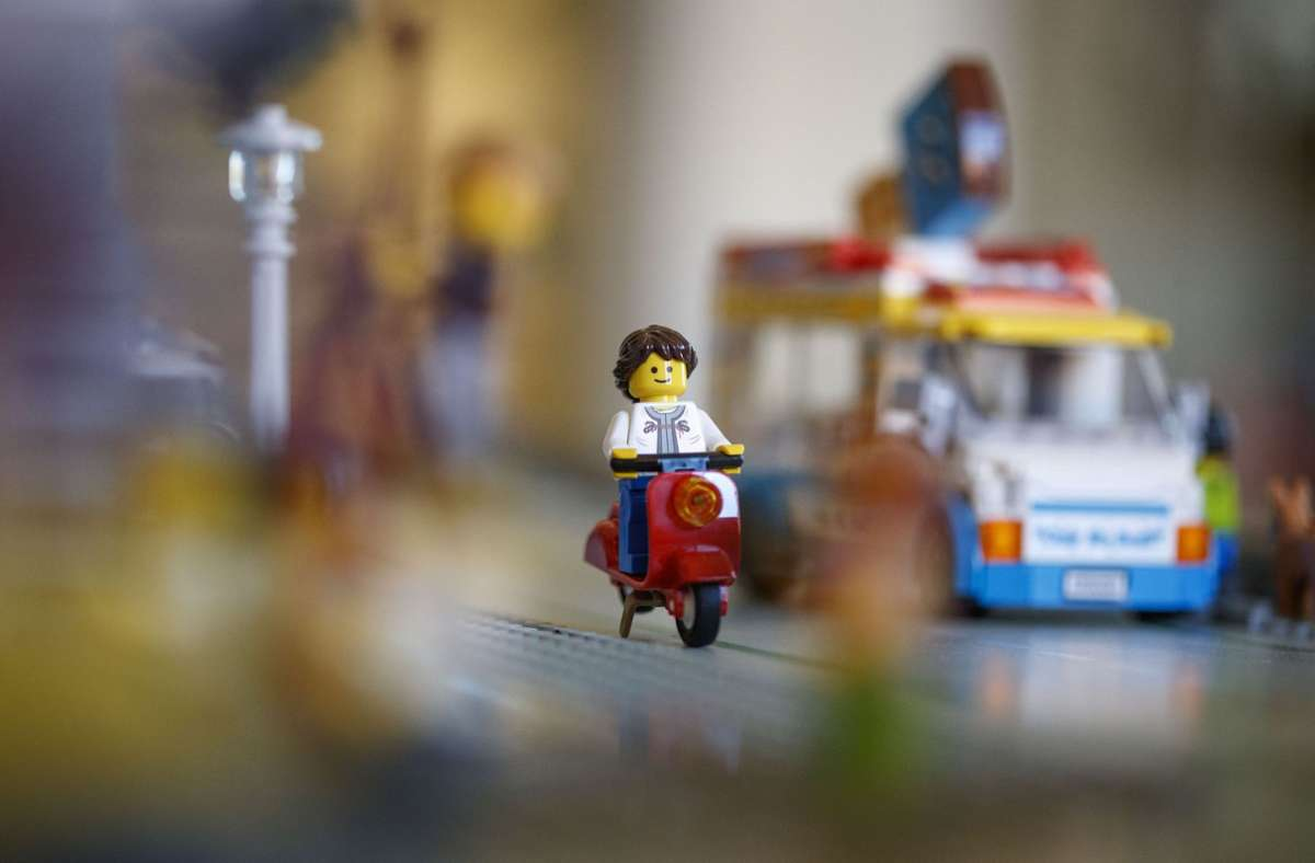 Die Liebe zum Detail spielt eine wichtige Rolle in der Lego-Welt. Foto: Gottfried Stoppel