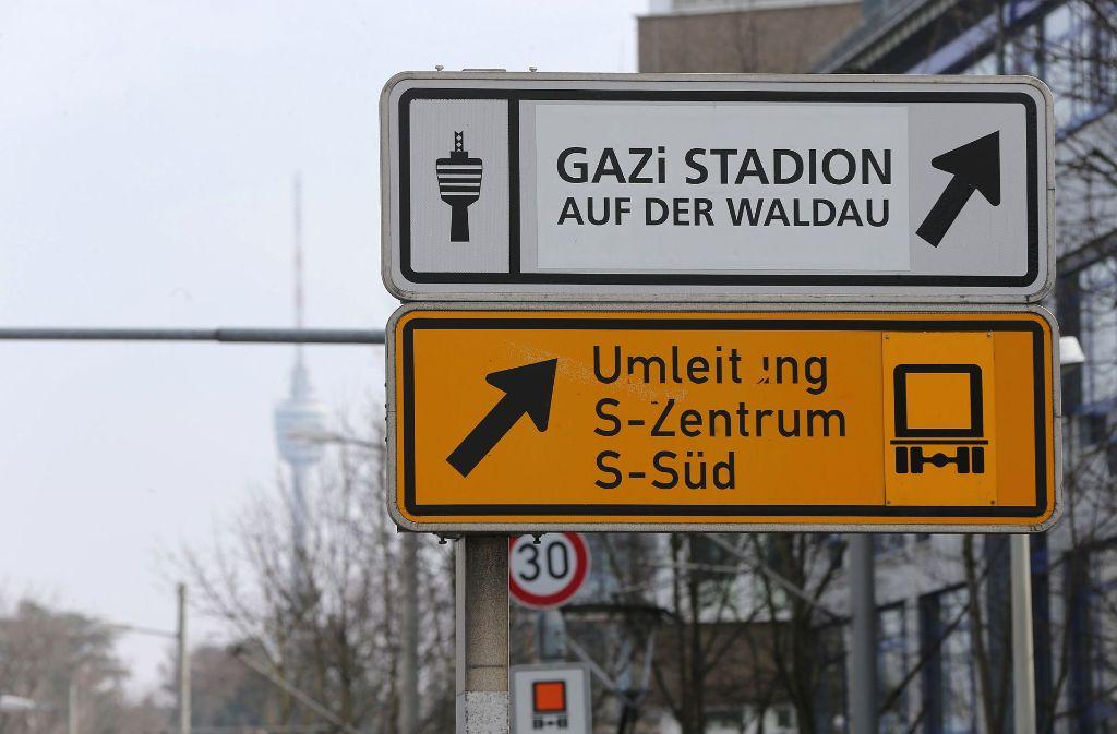 Achtung, Umleitung. Das gilt dieses Wochenende für Strecken in Stuttgart-Degerloch. Foto: Archiv Lichtgut/Achim Zweygarth