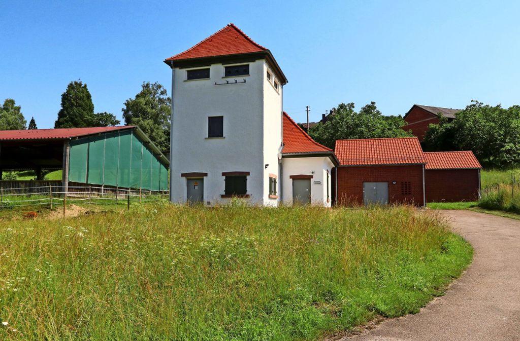 Wimsheim betreibt mit Friolzheim im Bereich Lerchenhof ein Pumpwerk. Foto: Andreas Gorr