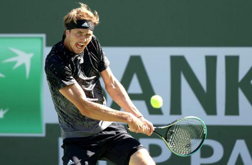 Zwei Matchbälle vergeben – deutscher Tennis-Star in Indian Wells raus