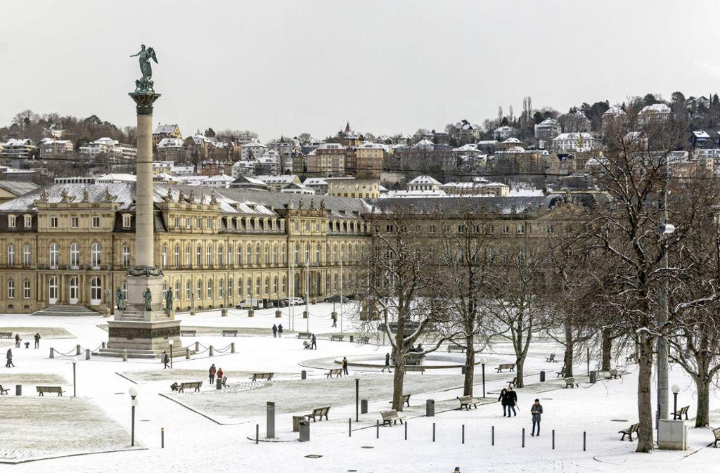 Zu Beginn der nächsten Woche könnte es in Stuttgart wieder so aussehen. (Archivbild) Foto: imago/Arnulf Hettrich