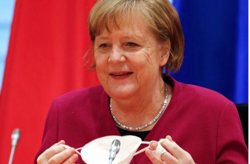"""Kreise: Angela Merkel sieht """"Licht am Ende des Tunnels"""""""