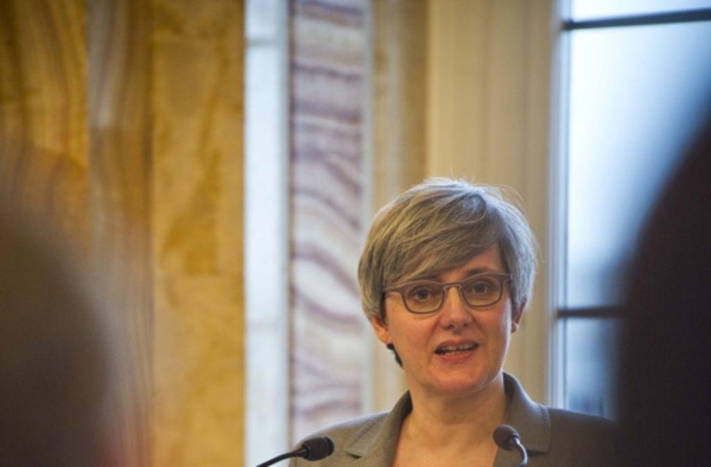 Die grüne Ministerin Silke Krebs sucht neue Aufgaben. Foto: Max Kovalenko/Lichtgut