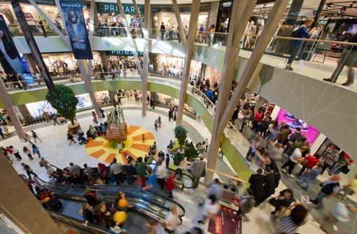 Einkaufszentren boomen: Nach dem Erfolg des Milaneo (Bild)  rüsten auch die Shoppingcenter in der Region Stuttgart auf. Foto: dpa