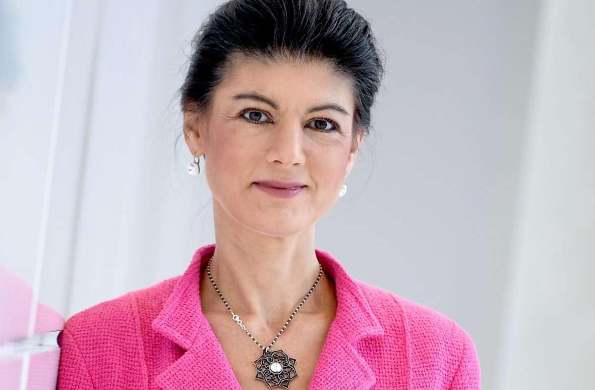 Die Linken-Bundestagsabgeordnete und Ex-Fraktionschefin Sahra Wagenknecht Foto: dpa/Britta Pedersen