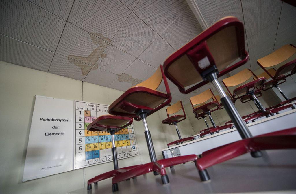 Zahlreiche Schulen sind in schlechtem Zustand. Foto: dpa