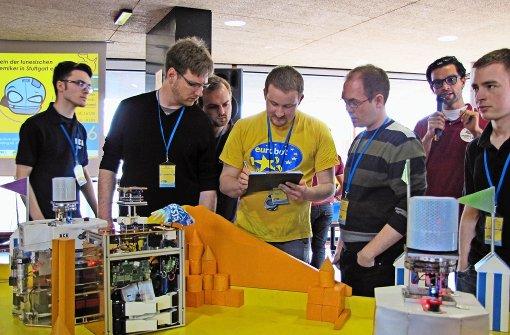 Roboter sandeln um die Wette