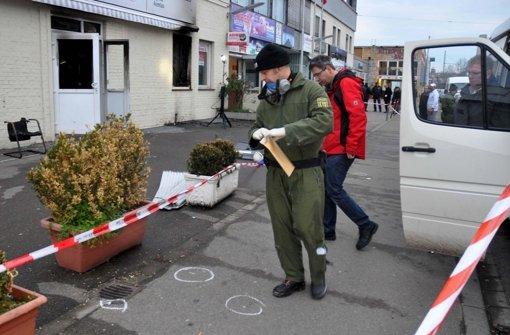 Polizei fahndet nach den Hintermännern