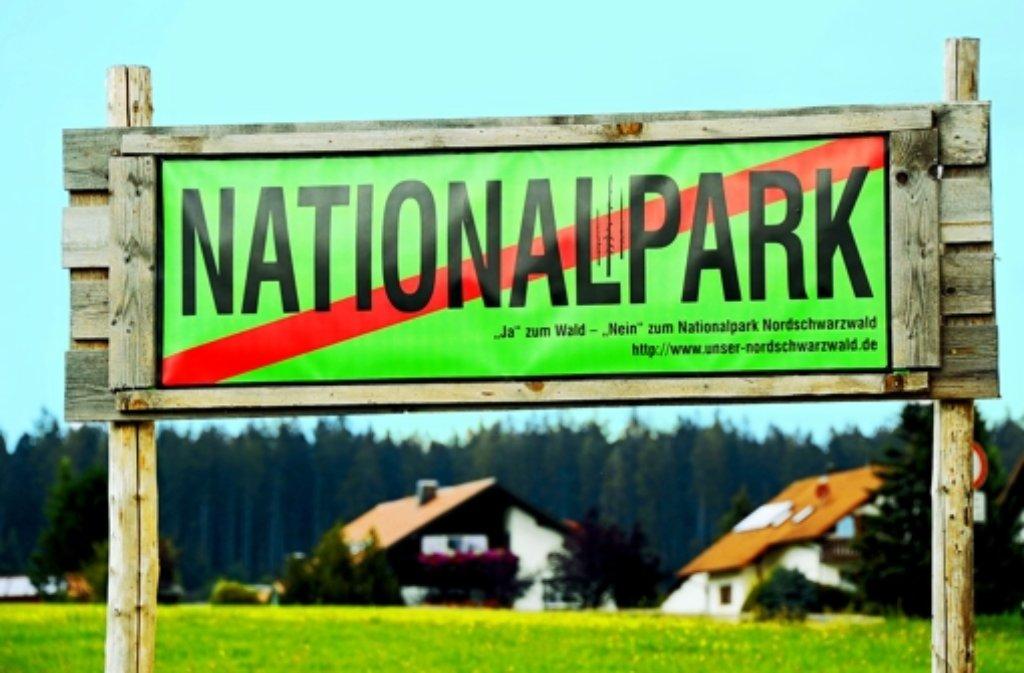 Die Gegner des Nationalparks machen mit einer neuen Offensive Front gegen das Prestigeobjekt der grün-roten Landesregierung. Foto: dpa
