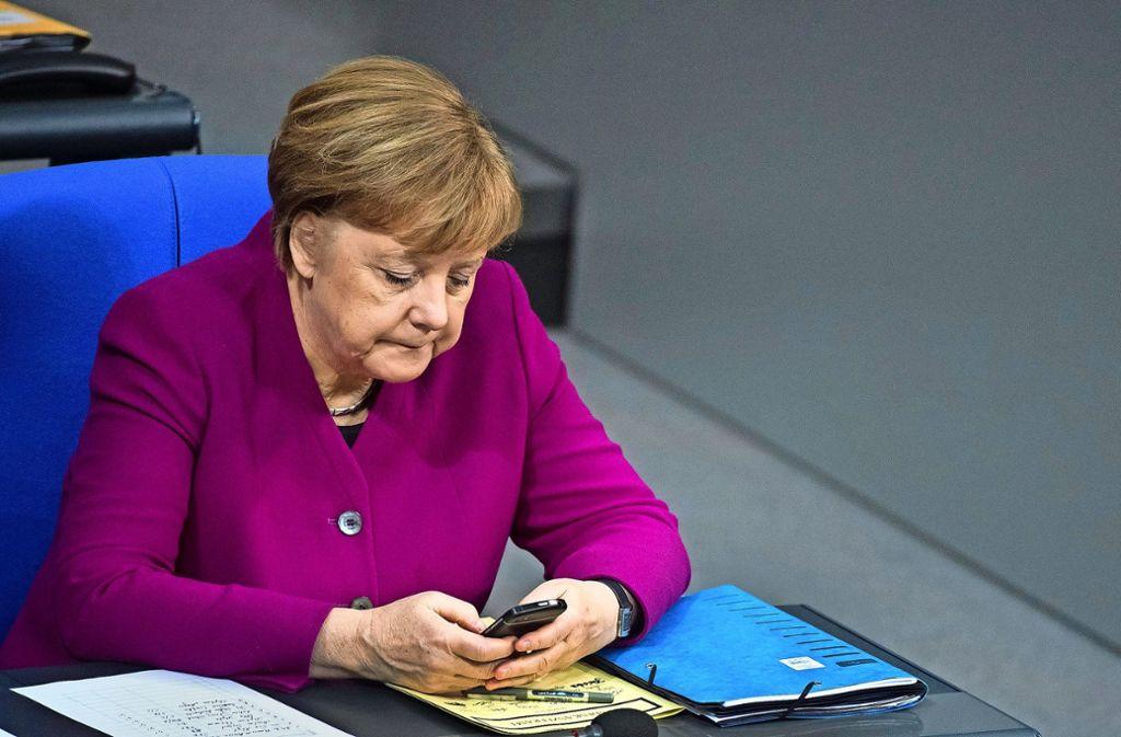 Opfer des Datenklaus ist auch Bundeskanzlerin  Angela Merkel. Foto: dpa