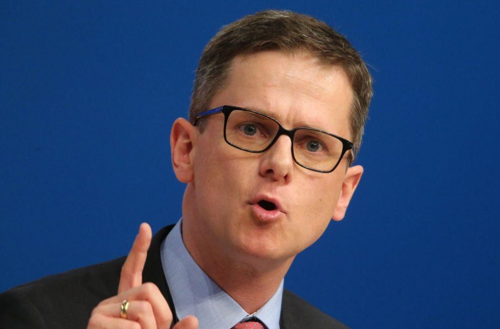 Er mahnt seine Partei, den ordnungspolitischen Kompass nicht zu verlieren: Carsten Linnemann, Vorsitzende der Mittelstandsvereinigung der Union. Foto: dpa