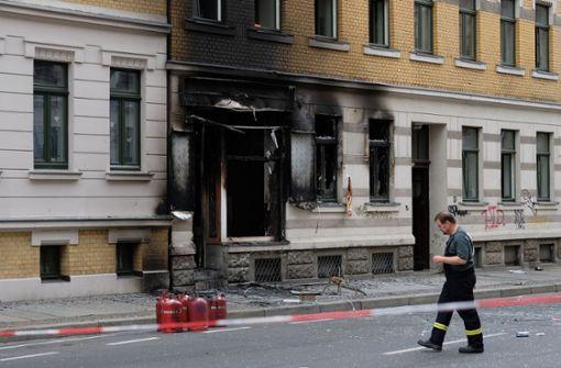 Zwei Verletzte bei Explosion in Dönerimbiss