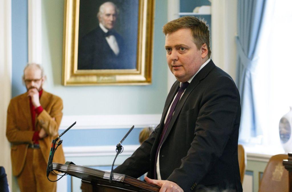 Der isländische Regierungschef Sigmundur David Gunnlaugsson ist durch die Panama Papers schwer unter Druck geraten. Foto: dpa