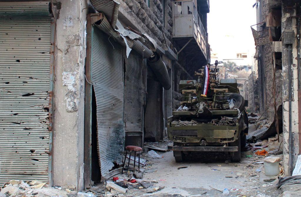 Der blutige Kampf um Aleppo kostet zahlreiche Menschen das Leben. Foto: EPA
