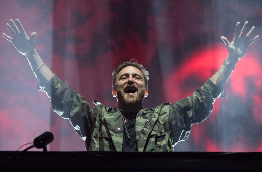 David Guetta will die Hochhäuser zum tanzen bringen. Foto: AFP/LOIC VENANCE