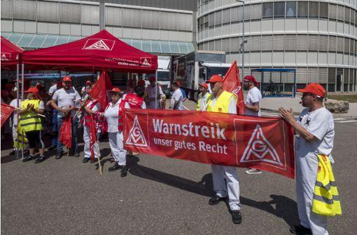 Betriebsversammlung stoppt Daimler-Band