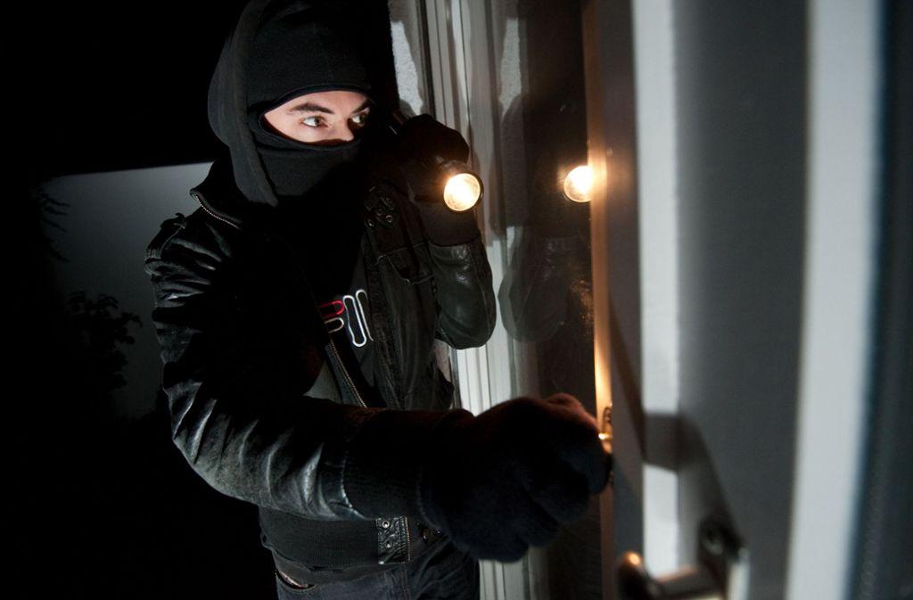 Die Einbrecher hatten jeweils Fenster oder Terrassentüren aufgebrochen. Foto: dpa