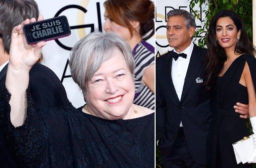 Clooney und Bates: Je suis Charlie