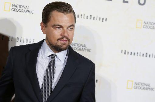 DiCaprio spendet eine Million Dollar für Opfer