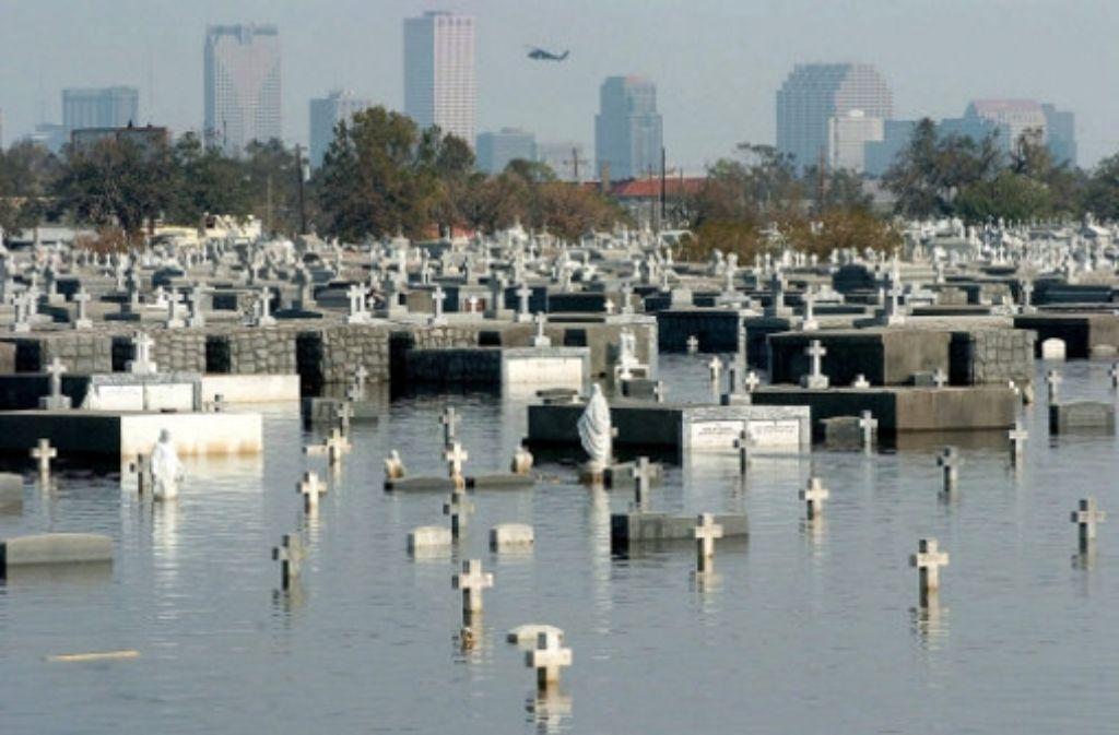 Katrina hat vor knapp zehn Jahren große Teile von  New Orleans zu  einem Friedhof gemacht. Foto: dpa