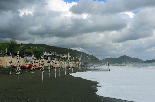 Heftige Unwetter sind über Norditalien hinweggezogen. Foto: dpa