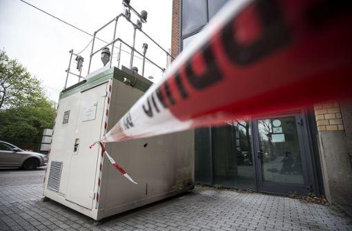Neue Schadstoff-Messstation am Neckartor installiert