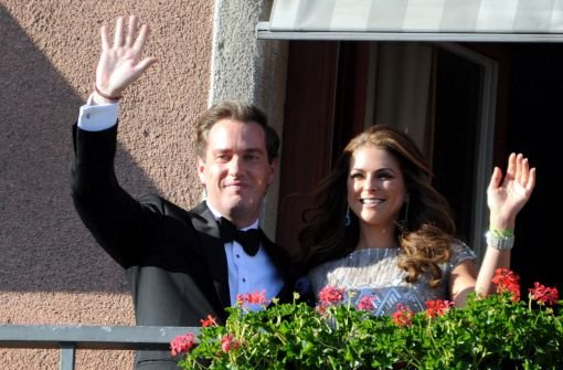 Startschuss zur Hochzeit von Prinzessin Madeleine mit Festbankett