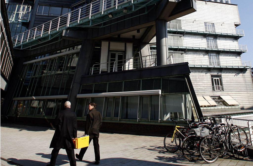 Das Verlagshaus Gruner + Jahr in Hamburg. Foto: AP