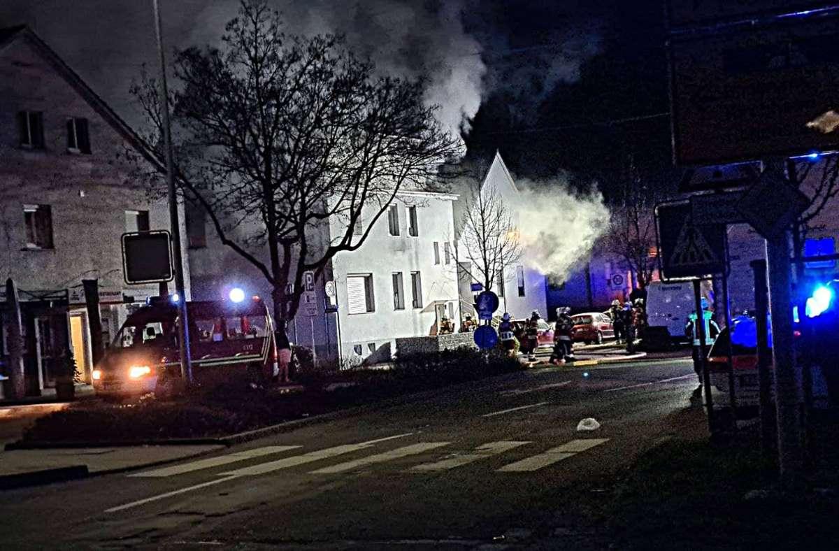 Über 50 Einsatzkräfte der Feuerwehr waren ausgerückt. Foto: 7aktuell.de/ Hessenauer