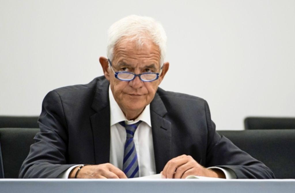 Justizminister Stickelberger ist schon mehrfach wegen etlicher Vorfälle in Justizvollzugsanstalten in die Kritik geraten. Foto: dpa