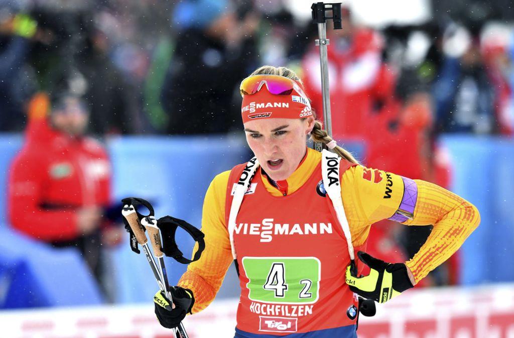 Denise Herrmann ist eine Medaillen-Kandidatin bei der WM. Foto: AP/Kerstin Joensson