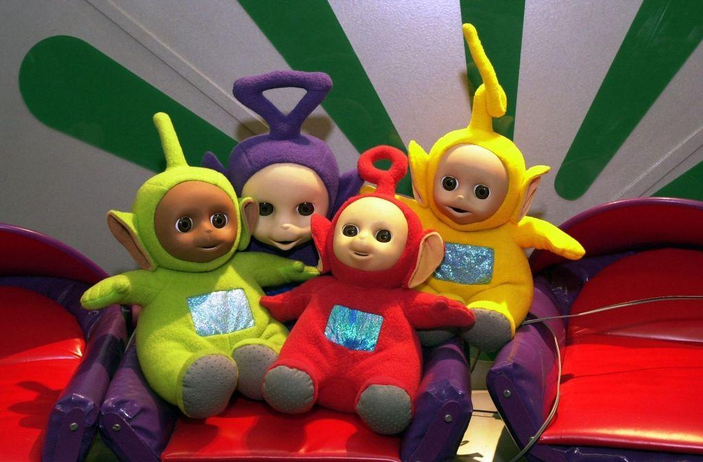 Winke, winke!: Die Teletubbies gelten als die Pioniere des Baby-TV. Fürs deutsche Fernsehen werden ihre einfachen Sätze synchronisiert. Foto: dpa