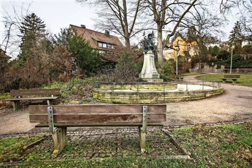 Der  Park, der ein Gedicht abbildet