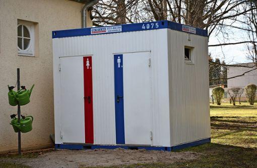 Toiletten weiter außer Betrieb