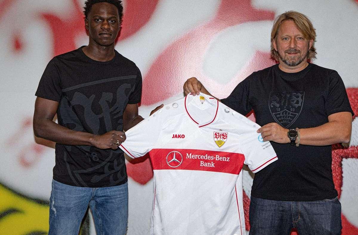 Kurz vor Ende der Transferphase hat der VfB noch einmal einen Spieler verpflichtet. Foto: VfB Stuttgart