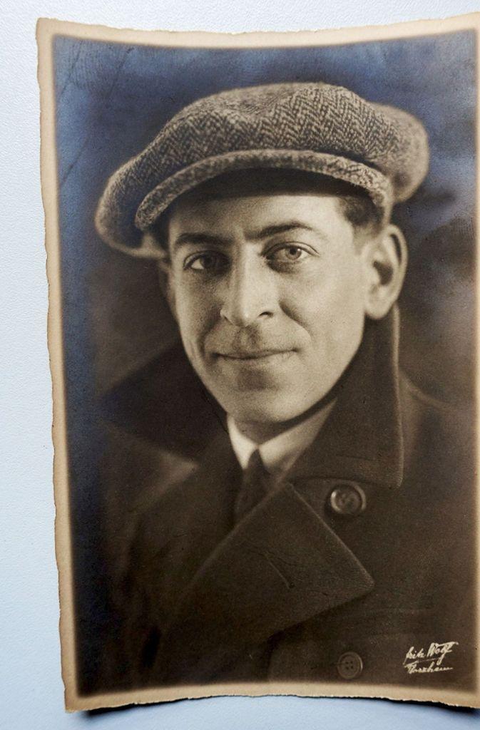 Rennfahrer, Erfinder, Unternehmer: Adolf Rosenberger, geboren 1900 in Pforzheim, Foto: SWR
