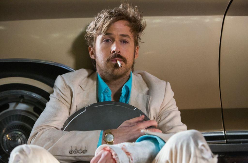 """Ryan Gosling als Holland March in einer Szene aus """"The Nice Guys"""" Foto: dpa"""