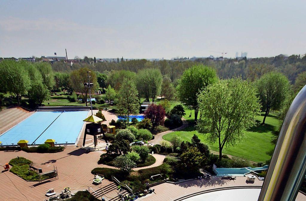 Das  neue Bad wird nicht, wie das bisherige, in Bissingen stehen, sondern in der Nähe des Bietigheimer Freibads. Foto: factum/Archiv