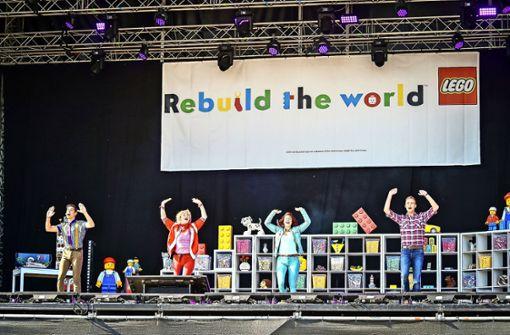"""Lego-Bauen im Auto, """"Deine Freunde"""" und """"Bibi & Tina"""" auf der Bühne"""