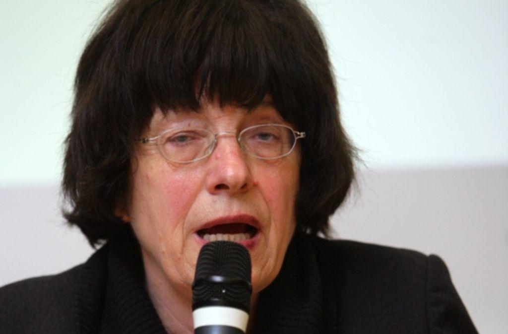 Gisela Erler hat auf Kritik von Oberbürgermeister Wolfgang Schuster und Thomas Bopp, Vorsitzender des Verbands Region Stuttgart, reagiert. Foto: Achim Zweygarth